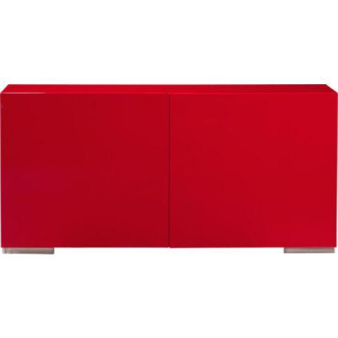 Merveilleux Fuel Red Credenza In Storage   CB2