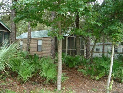 Cabin at a Florida fish camp