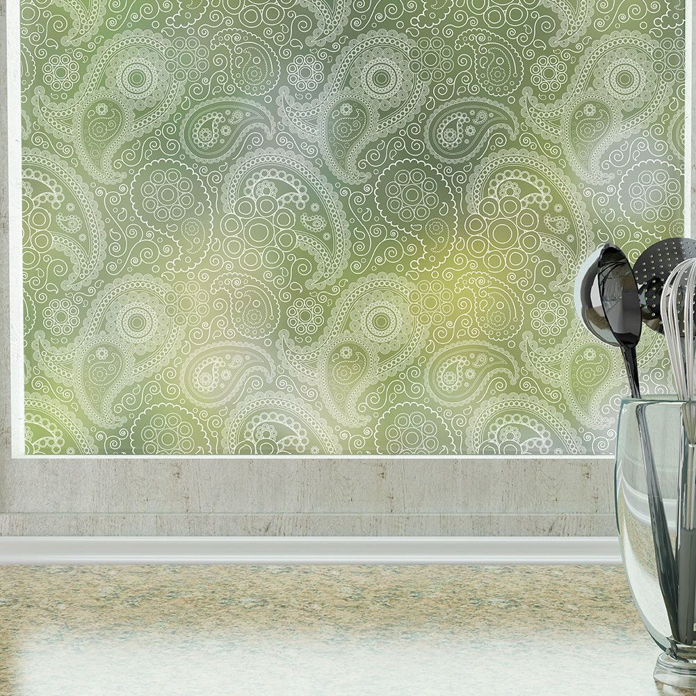 Translucent Window Film Crazy Paisley Privacy Window Film Cute Ideas Window Privacy