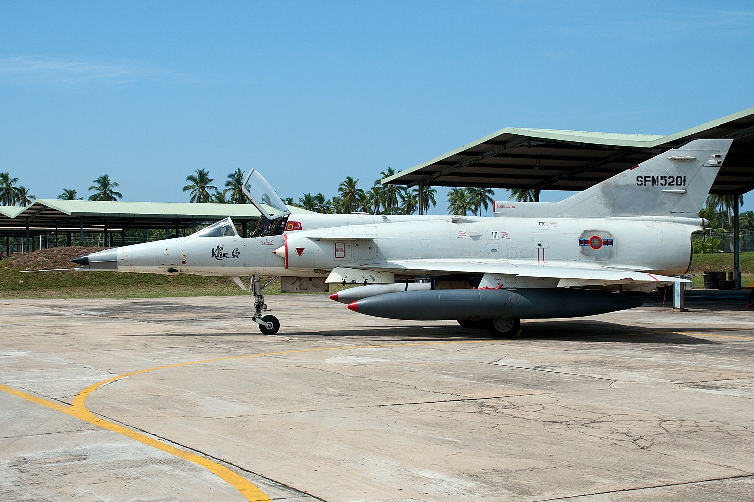 Sri Lankan Air Force IAI Kfir C.2