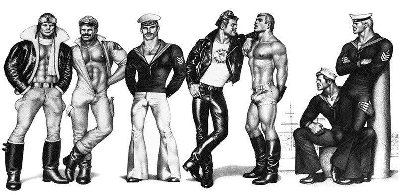 Tom of Finland  | Tom of finland art,   | Tom of Finland gay history