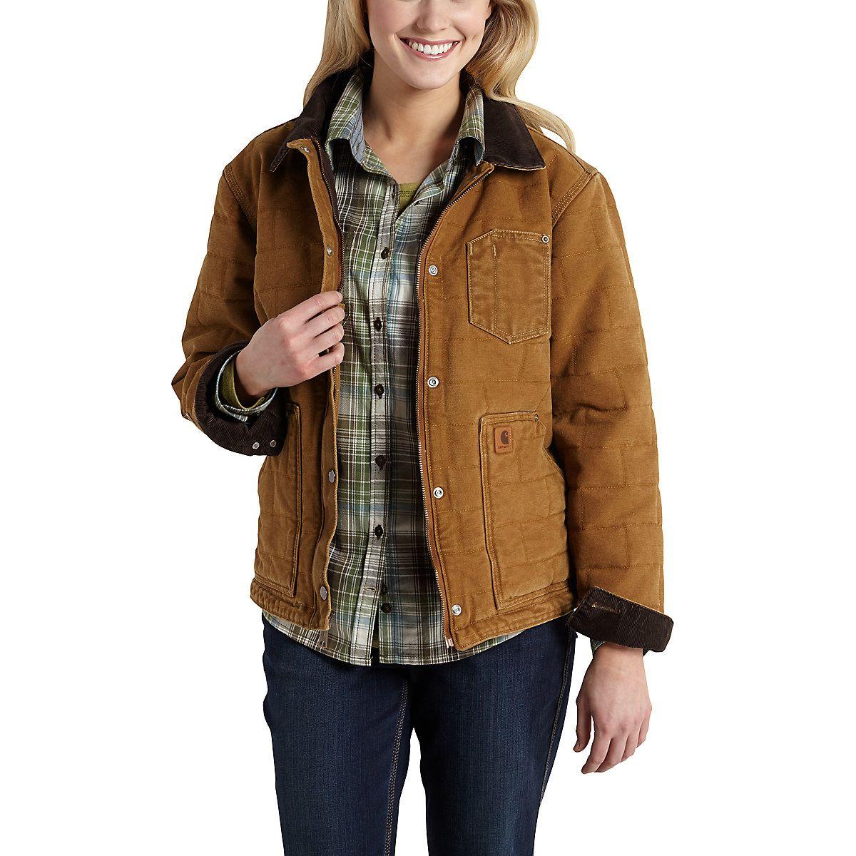Sandstone Newhope Jacket Carhartt Women Jackets For Women Jackets [ 1200 x 1200 Pixel ]