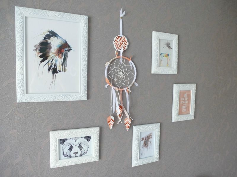 moi aussi je veux un dreamcatcher mon tableau intime. Black Bedroom Furniture Sets. Home Design Ideas
