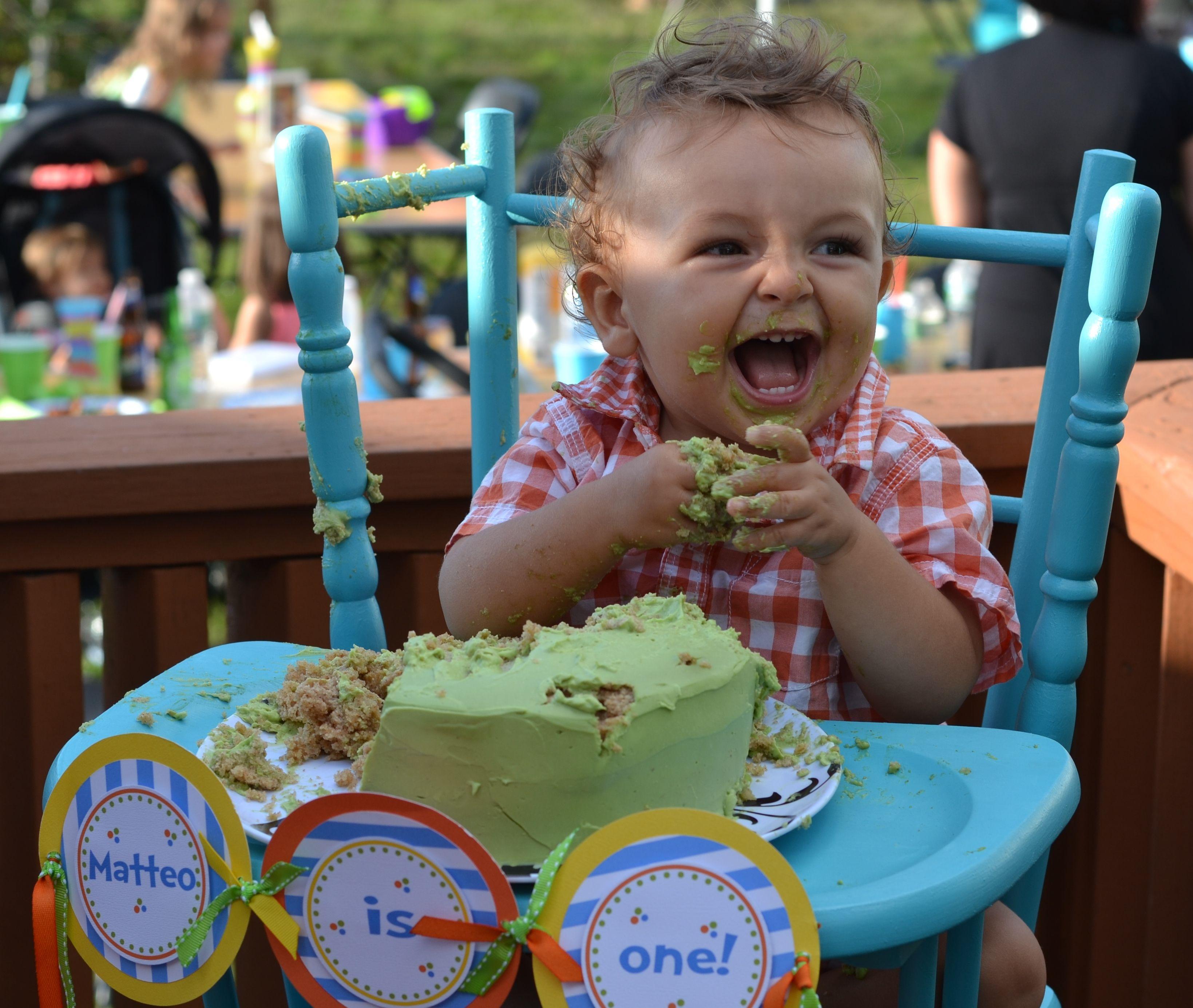 Healthy Sugar Free Birthday Cake firstbirthday cakesmash