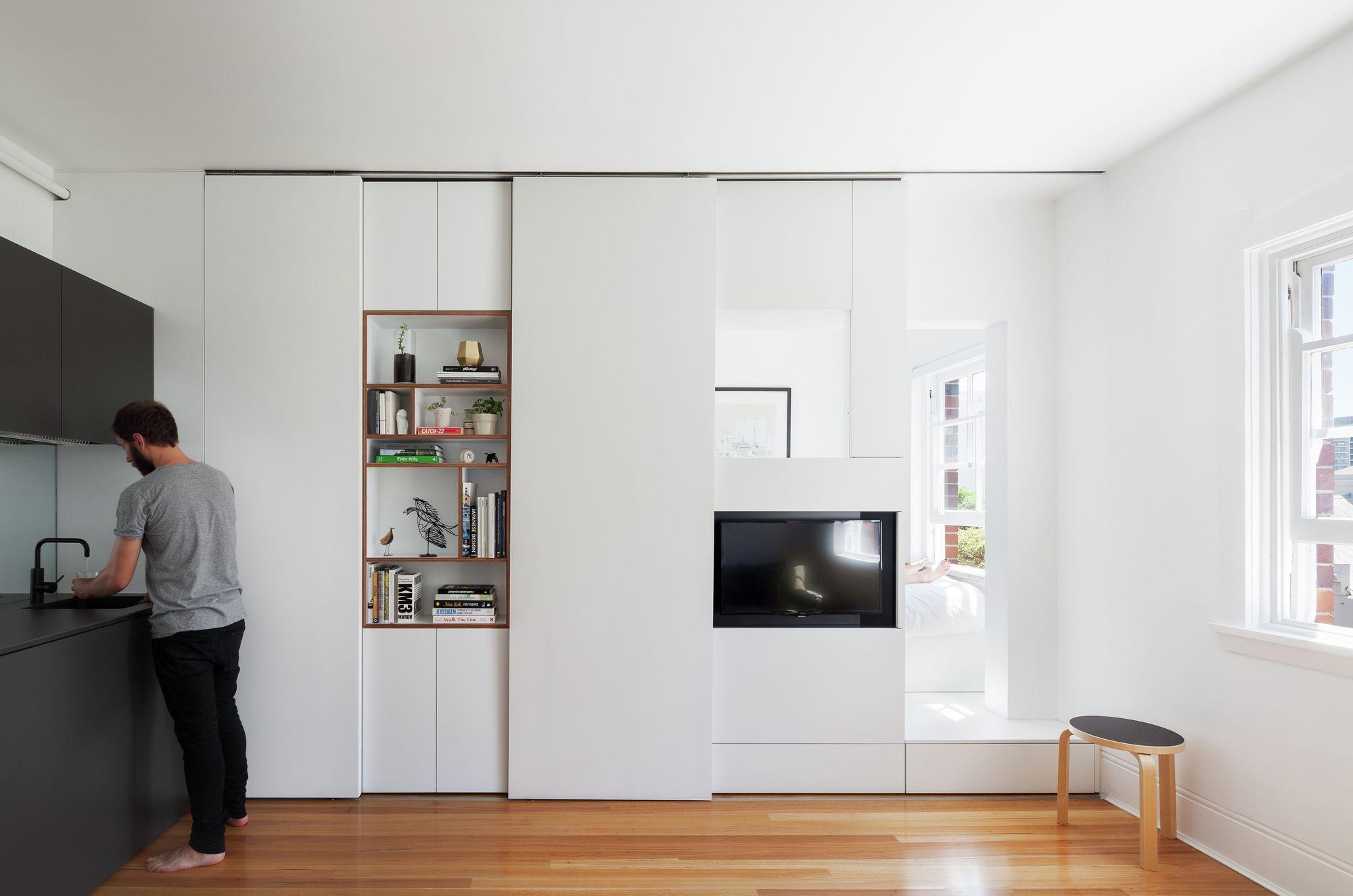 Darlinghurst Apartment / Brad Swartz Architect | minimalistische ...