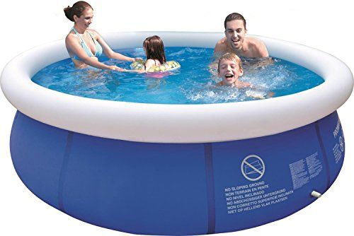 10 X 30 Blue And White Inflatable Above Ground Prompt Set Swimming Pool Want To Know More Click On Swimming Pools Inflatable Pool Inflatable Swimming Pool