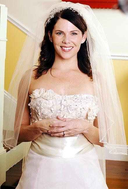 Loreleis Wedding Gown Gilmore Girls