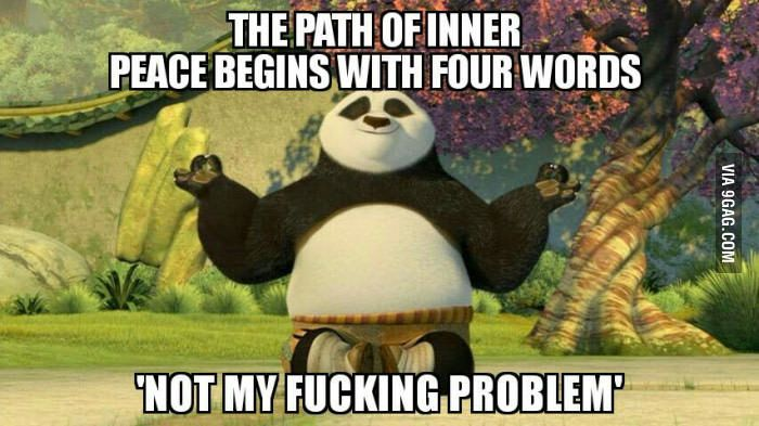 Inner Peace Kung Fu Panda Kung Fu Panda Quotes Kung Fu