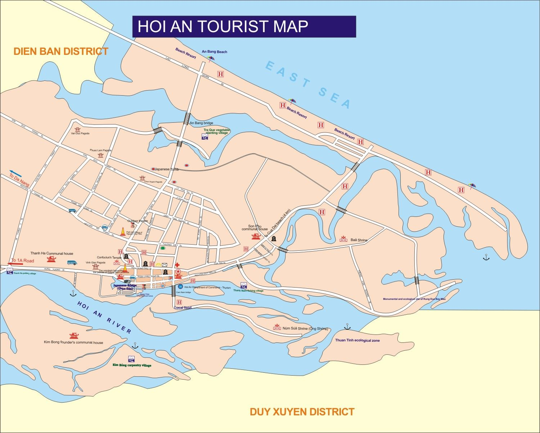 Map hoi an city quang nam province da nang pinterest city map hoi an city quang nam province sciox Image collections