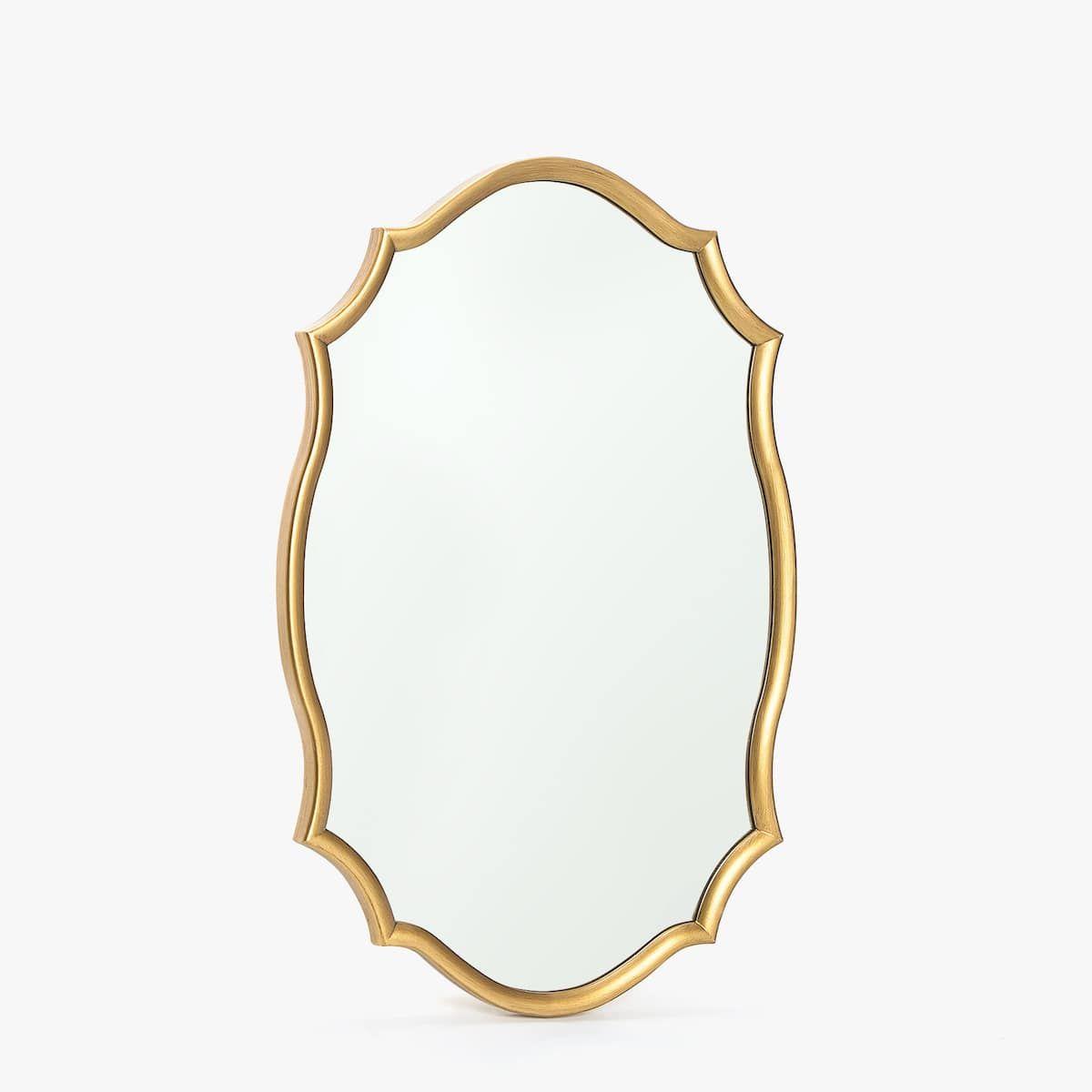 oglindă ondulată)