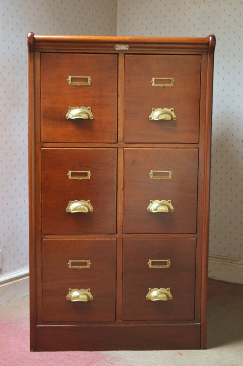 Victorian Double Filing Cabinet Filing Cabinet Cabinet Victorian