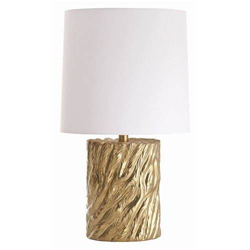 gold plated lamp