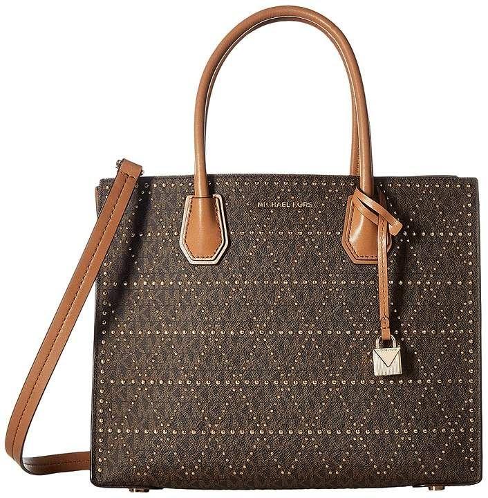 010f6fdb4781 MICHAEL Michael Kors Mercer Stud Grommet Large Convertible Tote Tote  Handbags