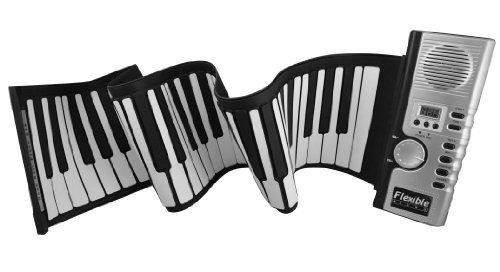Mini Portable Roll Up Piano w/ 61 Thickened Keys - Cool Musical Instruments - http://www.specialdaysgift.com/mini-portable-roll-up-piano-w-61-thickened-keys-cool-musical-instruments/