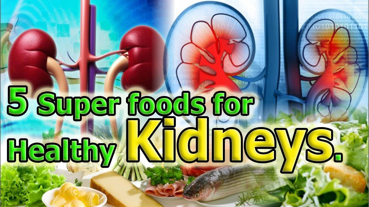 Eat these Foods for Healthy Kidneys
