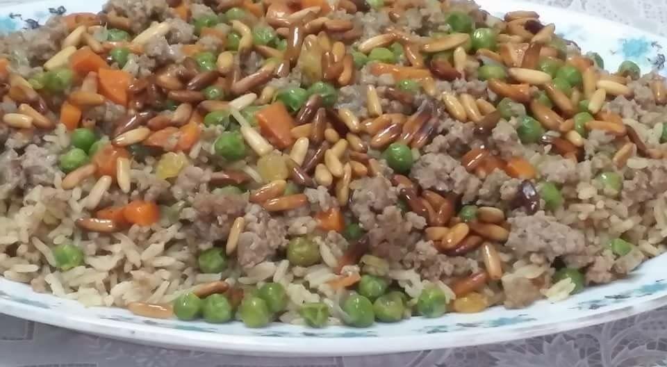 رز بالخلطة بنكهة مميزة جدا  أطباق دجاج وطيور أطباق رئيسية أطباق لحوم