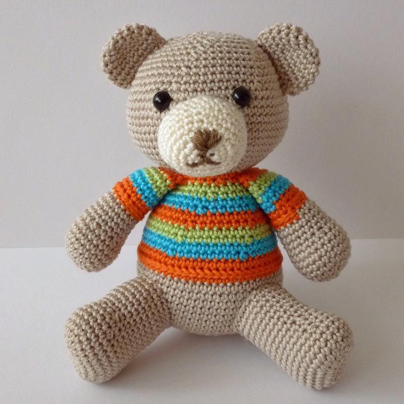 Haakpatroon Teddy Animalitos Pinterest Crochet Bear Crochet