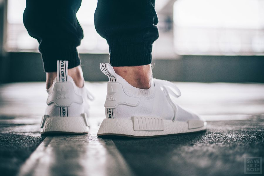 Adidas Nmd R1 Pk White Gum Pack Sneaker Save Our Sole