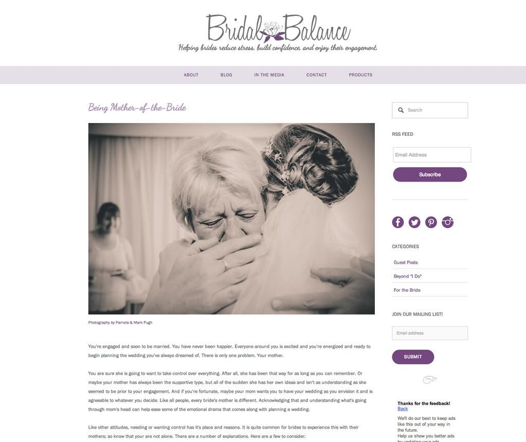 FEATURED #BridalBalance  http://www.bridalbalance.com/blog/2014/4/29/9d4d014l9mf6c1xo4aw49qgzpuuail