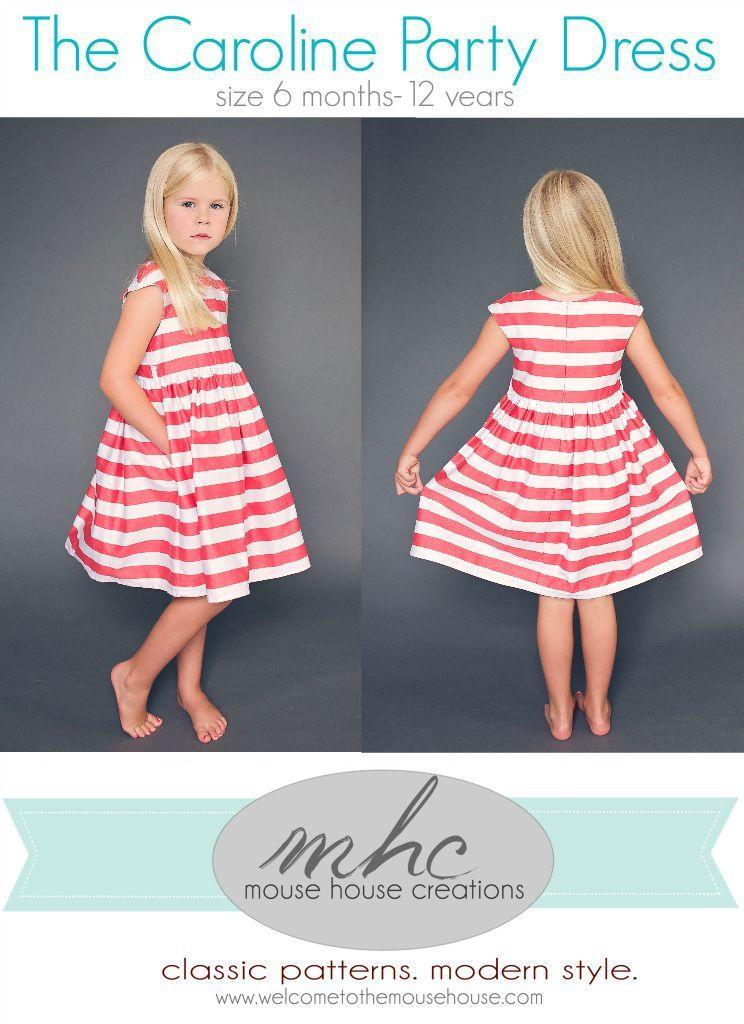 Increíble Modern Kids Sewing Patterns Inspiración - Manta de Tejer ...
