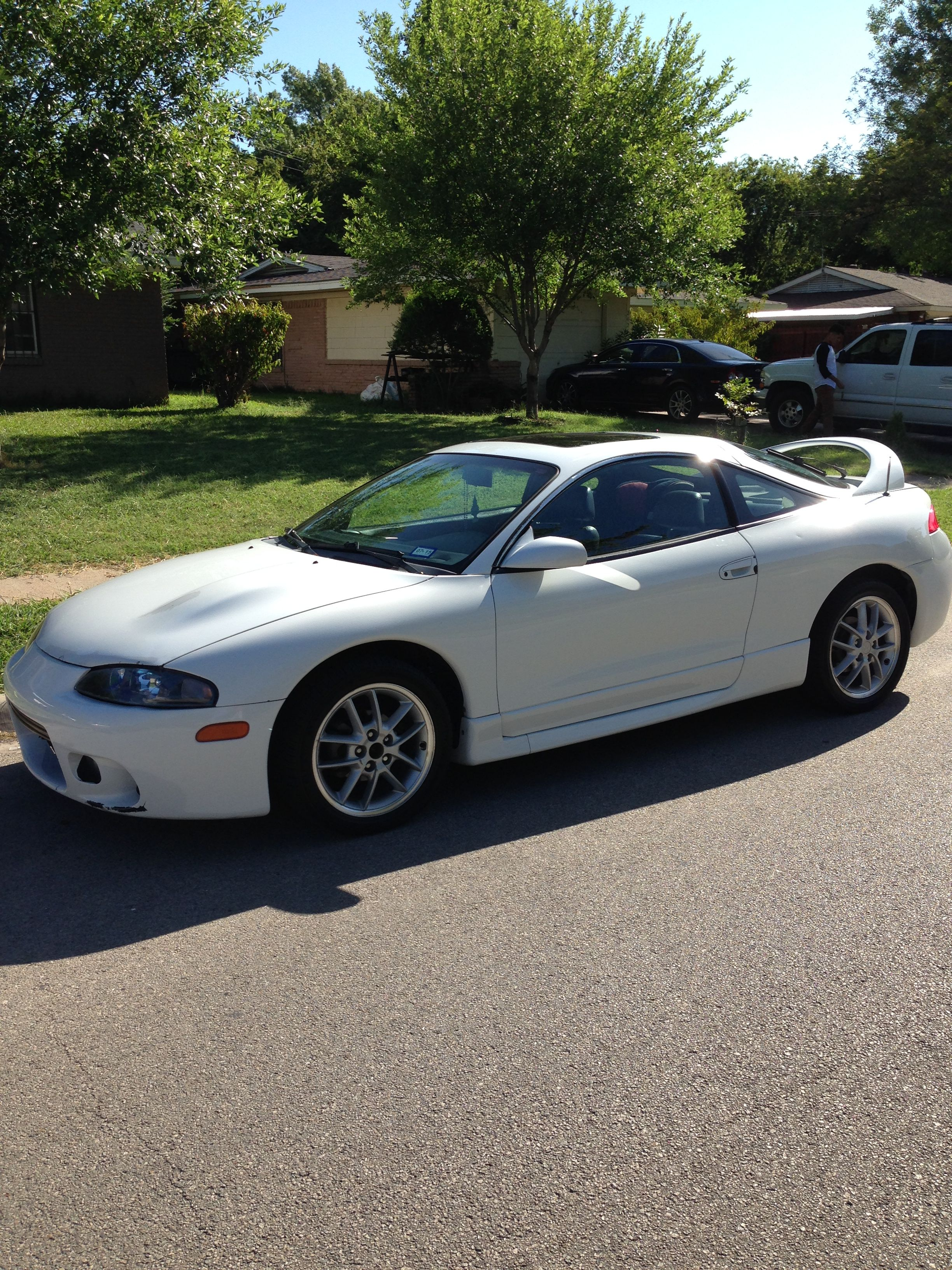 My 97 eclipse GST with GSX wheels just got done washing and waxing it