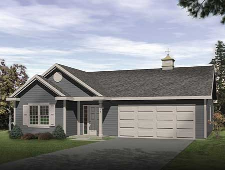 Plan 2225sl one story garage apartment garage for Garage apartment plans two story