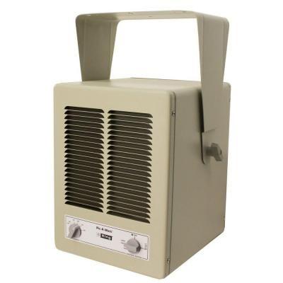 King 5700 Watt 240 Volt Single Phase Paw Garage Portable Heater With Built In Thermostat Kbp2406 Garage Heater Shop Heater Portable Heater