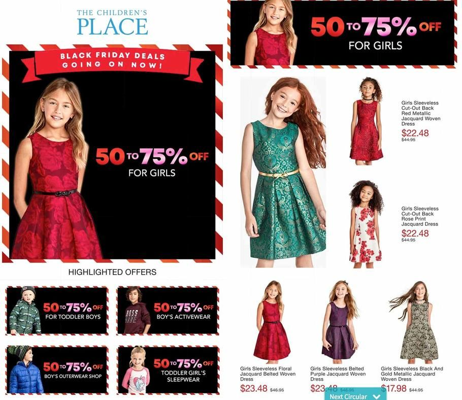 70329b8462910 The Children s Place 2018 Black Friday Ad