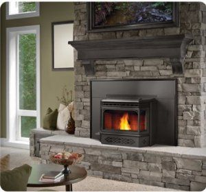 Pin By Heather Hurrell On Fireplace Ideas Pellet Fireplace Wood