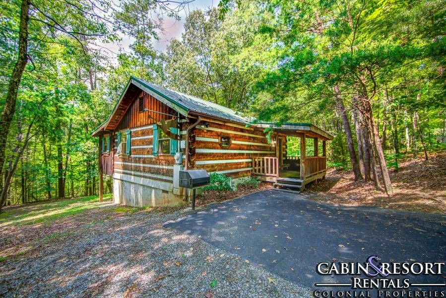 Angels Among Us Cabin Rental 1 Bedroom 2 Baths Pigeon Forge Tennessee Log Cabin Rustic Cabin Log Cabin