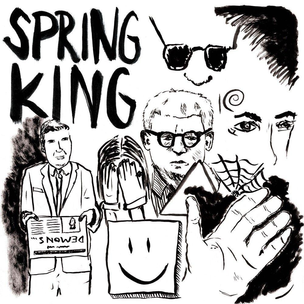 Springking Demons EP CD and T bundle!