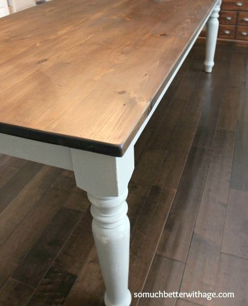Dining Room Table Makeover Dining Table Makeover Pine Dining