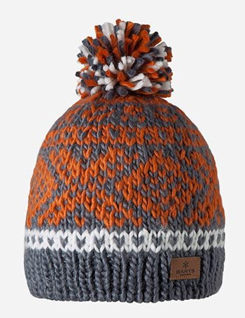 3d5719c512d Barts Log Cabin Beanie Hat - Dark Grey