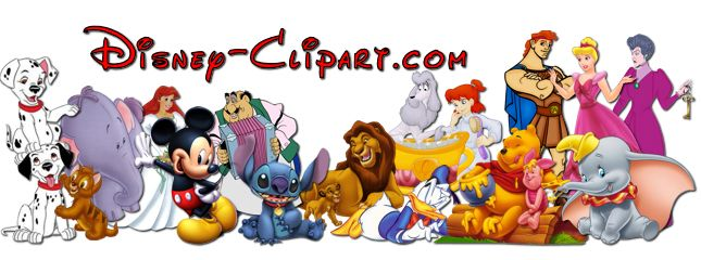 Walt Disney Characters Clipart Clipart Kid Graphic Design Ideas