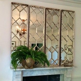 Original Decorative Window Frame Mirrors These Decorative Pieces Are Available In 2 Size Specs Each Of The I Window Frame Mirror Mirror Frame Diy Frame Decor