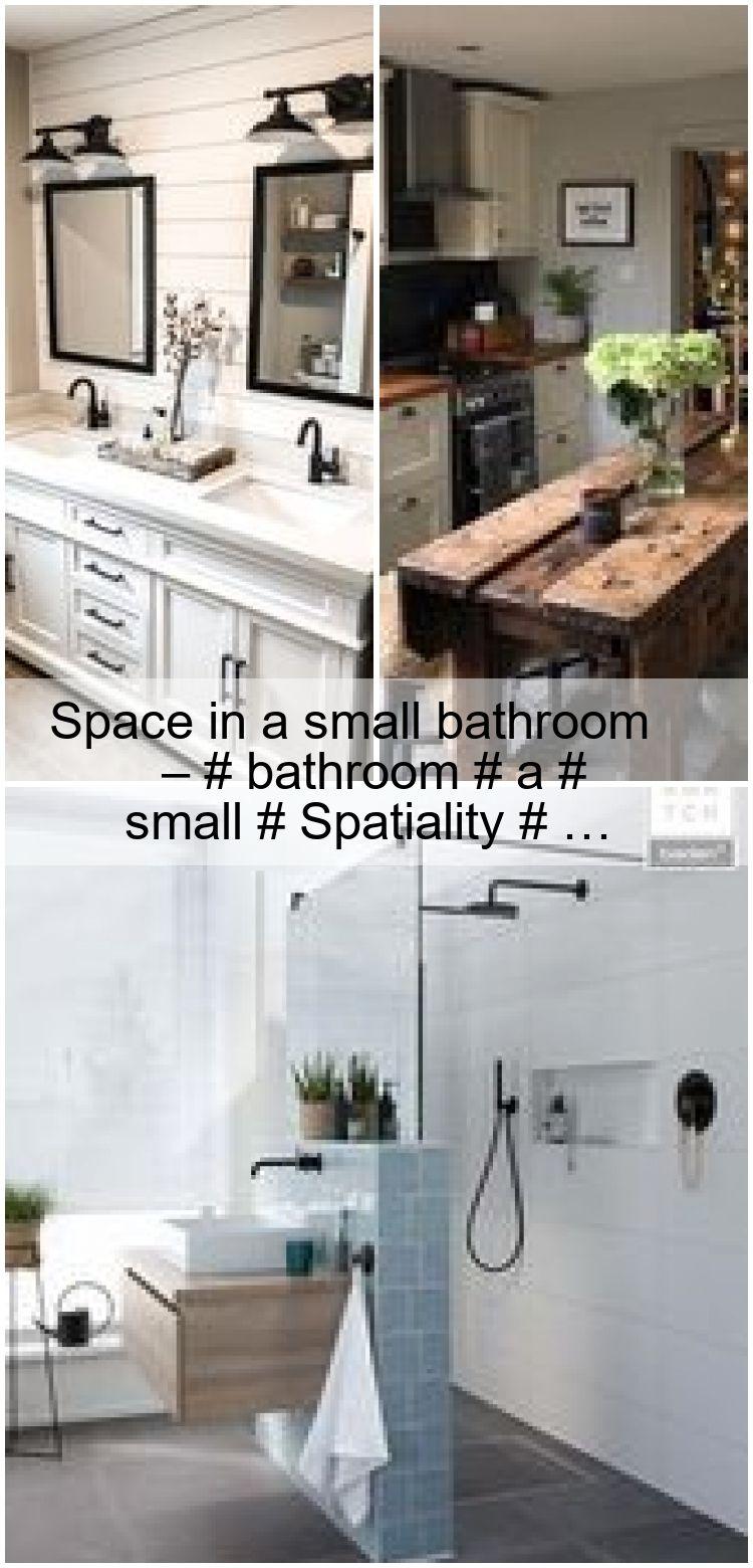 Space in a small bathroom – # bathroom # a # small # Spatiality # … ,  #bathroom #small #space #Spatiality