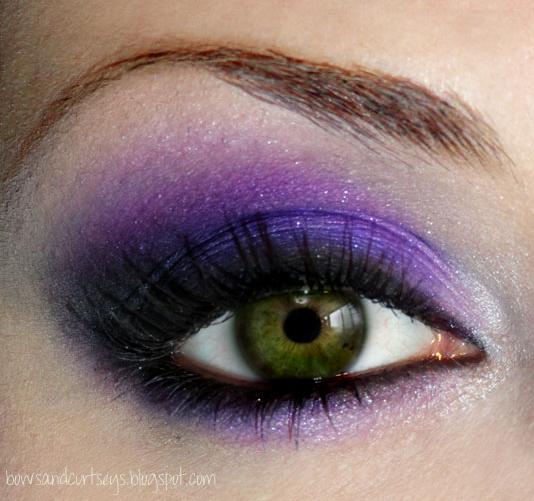 purple eye makeup