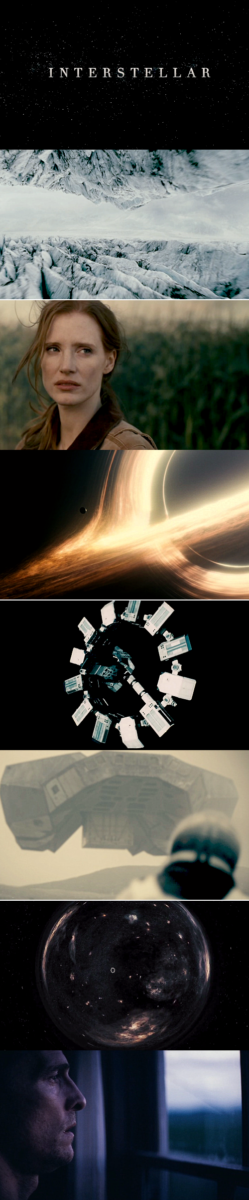 Interstellar: Do not go gentle into that good night; Old age should burn and rave at close of day. Rage, rage against the dying of the light.