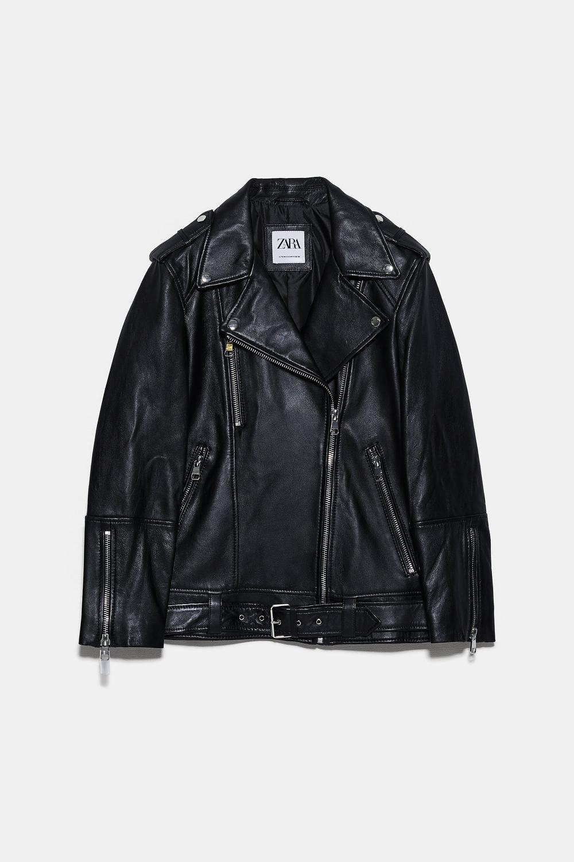 Oversized Leather Jacket Zara Canada Leather Jacket Zara Leather Jacket Jackets [ 1501 x 1000 Pixel ]