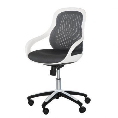 Chaise De Bureau Pivotante Ben Coque Blanche Chaise Bureau Bureau Pivotant Fauteuil Bureau
