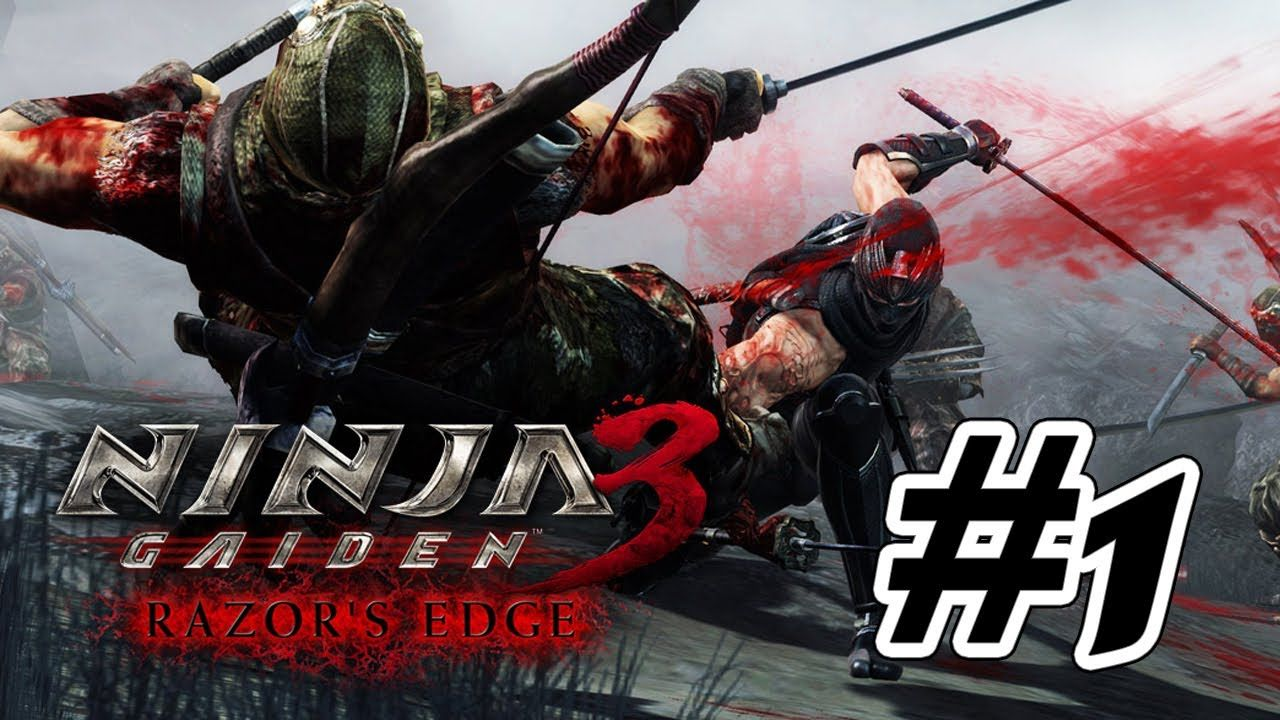 Ninja Gaiden 3 Razor S Edge Walkthrough Part 1 Gameplay Hd Ninja Gaiden Ninja Wii