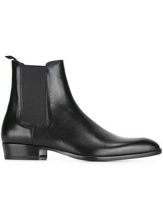 64aca916727 Saint Laurent 'Paris' ankle boots | All Black in 2019 | Saint ...