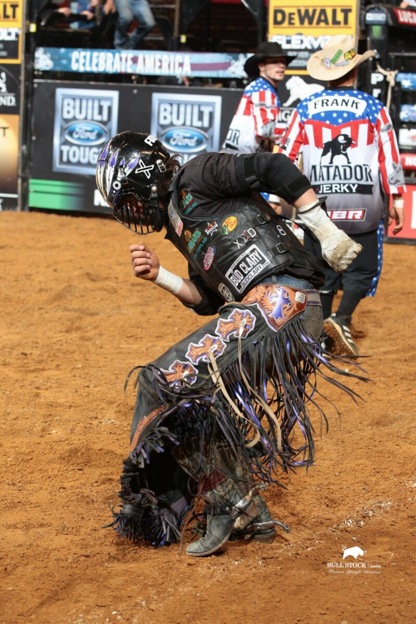 PBR cowboy Stetson Lawrence doing his dance