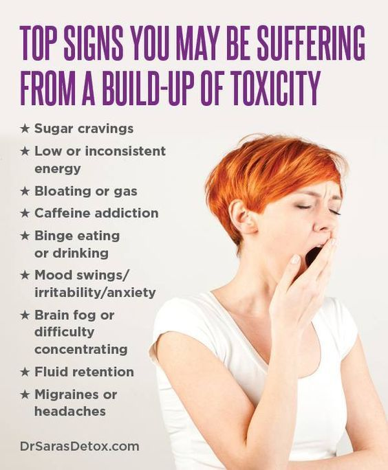 signs that you have toxic overload that can cause bloating