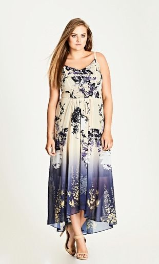 TOKYO BLOSSOM MAXI DRESS Dresses Pinterest