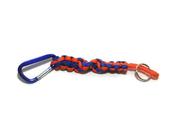 Denver Broncos Inspired Paracord Lanyard by ACORDING2MACEY on Etsy