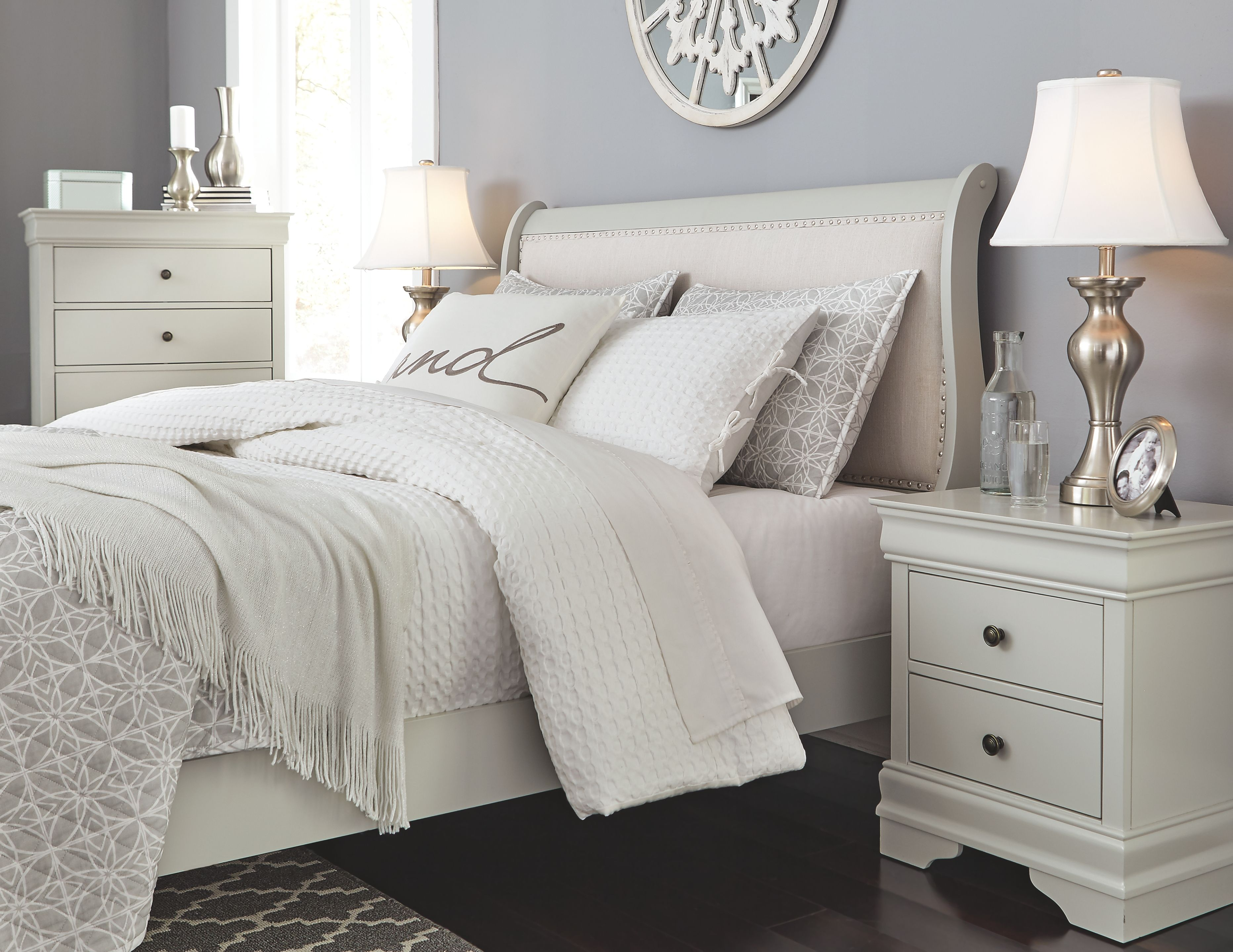 Jorstad Full Bed with 2 Nightstands in 2019 Products