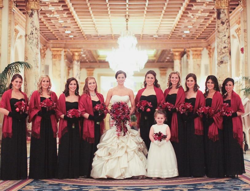 winter bridesmaids - Google Search | BRIDAL FANTASIES AND ...