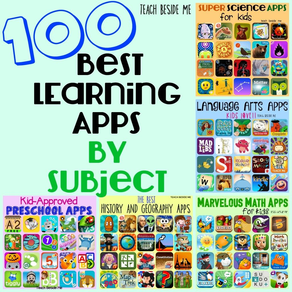 100 Best Learning Apps by Subject | App, Apps and Homeschool