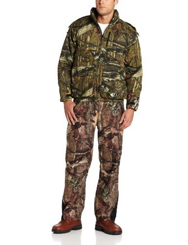 Mossy Oak Mens Insulated Parka, Infinity, XXX-Large